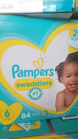Pampers size 6 for Sale in South El Monte, CA