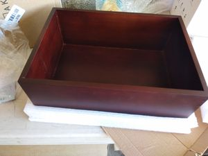 Small wood storage box for Sale in Glendale, AZ