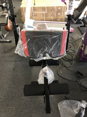 Weight Bench/ Squat Rack (BRAND NEW IN THE BOX) for Sale in Whittier, CA