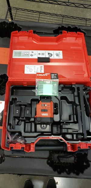 Hilti pm 30 green laser 12v brand new with battery and charger for Sale in Dallas, TX