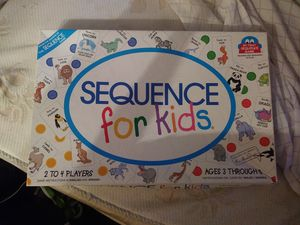 Sequence Game for Kids for Sale in Novato, CA