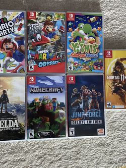 Nintendo Switch Games Lot (willing To Sell Separately) for Sale in Atlanta,  GA