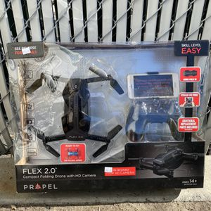 Folding Drone With HD Camera, Black for Sale in San Diego, CA