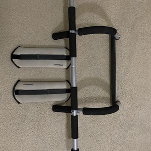 Pull Up Bar And 5lb Weight Strap for Sale in Seattle, WA