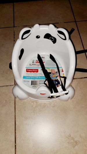 Fisher-Price Table Time Cow Booster Seat for Sale in Pasadena, TX