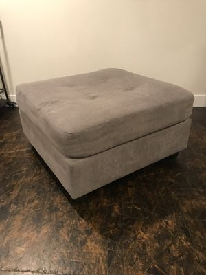 Grey Ottoman for Sale in Portland, OR