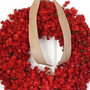 Silk Flower Front Door Wreath ( New/ Not Used) for Sale in Houston, TX