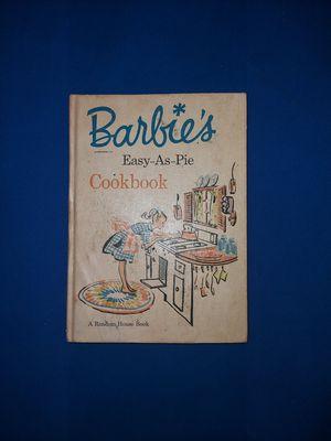 Rare Vintage Barbie Cookbook Easy-as-pie Cookbook 1964 First Edition for Sale in Atlanta, GA