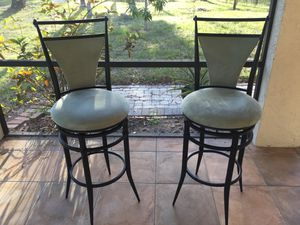 Mint Condition Swivel Bar Stools for Sale in Naples, FL