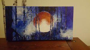 Acrylic painting 12 x 24 for Sale in Fairfax, VA