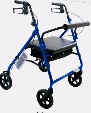 Roscoe Bariatric Rollator Walker Blue for Sale in Henderson, KY