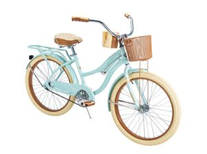 """Huffy 24"""" Nel Lusso Girls' Cruiser Bike, Mint Green for Sale in Grove City, OH"""