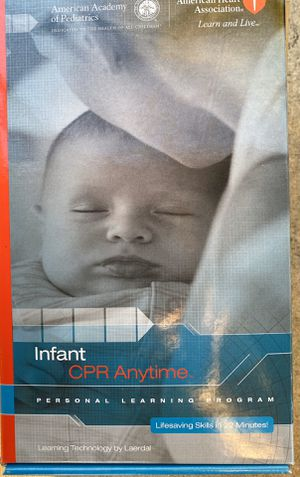 CPR infant doll for Sale in San Antonio, TX