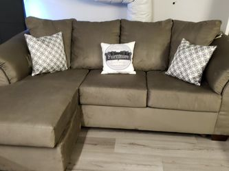 Ashley's Grey Sofa Chaise for Sale in Oviedo,  FL