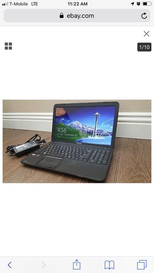 """Toshiba Satellite Laptop C855D-S5302 15.6"""" LCD Win8 AMD 1.3Ghz 2 Core 8GB RAM for Sale in HOFFMAN EST, IL"""