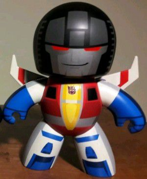 Transformers Starsceam Action Figure mighty muggs toy for Sale in Marietta, GA