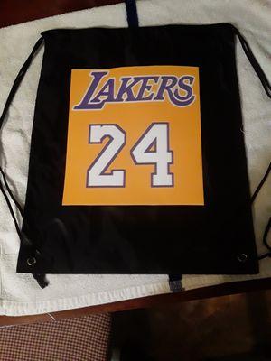 Los Angeles Laker drawstring backpacks for Sale in Heritage Creek, KY