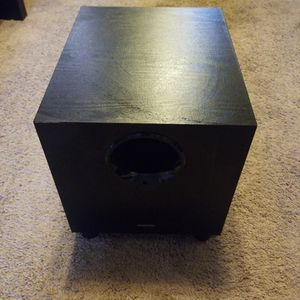 Subwoofer Onkyo 8 Inches. for Sale in Lakeside, CA