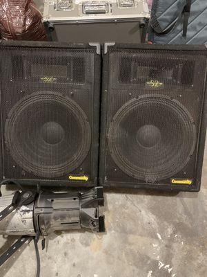 Floor Monitor Speakers 🔊 for Sale in Dacula, GA