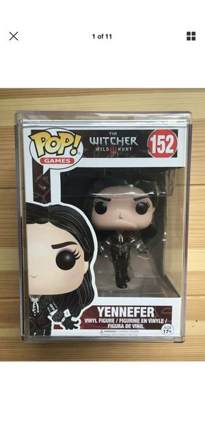 YENNEFER WITCHER 3 funko pop for Sale in Moreno Valley, CA