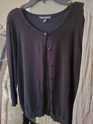 Ladie cardigan / Size large for Sale in Allen Park, MI