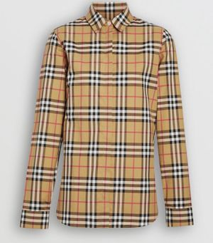Burberry Women's shirt (L) for Sale in San Bernardino, CA