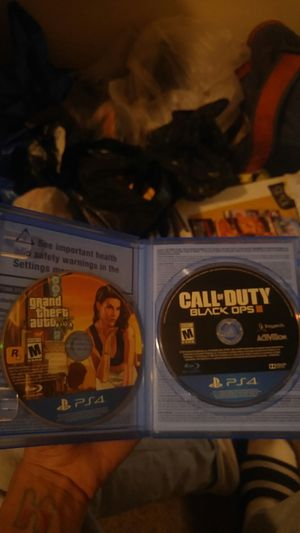Call of duty & gta for Sale in Washington, DC