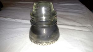 Hemingray 42 Antique clear glass insulator for Sale in BAYVIEW GARDE, IL