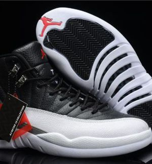 Air Jordans 12 Retro (Red & Black/White) for Sale in Washington, DC