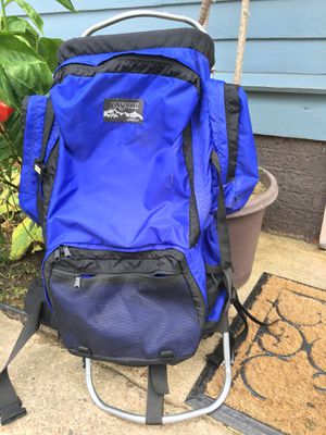 """Jansport Backpacking External Frame Fits Size 5'6"""" to 6'4"""" for Sale in Cuyahoga Falls, OH"""