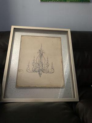Mercana chandelier picture - 23.5 x 27 for Sale in Bristow, VA