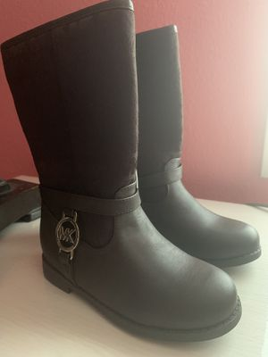 Michael Kors toddler girl boots for Sale in Veradale, WA