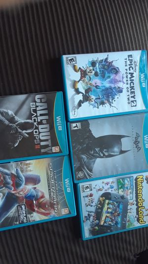 Wii U Games for Sale in Las Vegas, NV