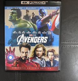 Avengers 4K With Digital Code for Sale in Winchester,  VA