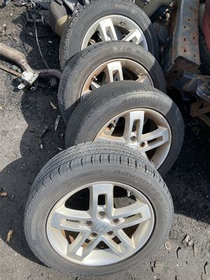 4 rims and tires for Kia Soul 2013 for Sale in Opa-locka, FL