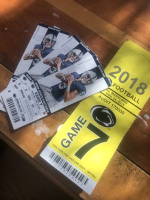 3 TICKETS PENN STATE VS MARYLAND 11/24/18 for Sale in Washington, DC