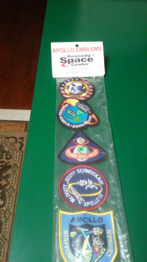 Apollo emblems Kennedy Space Center for Sale in Pinellas Park, FL