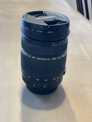 Tamron SP AF Aspherical XR Di LD (IF) 28-75mm 1:2.8 Macro Lens for Sale in Colorado Springs, CO