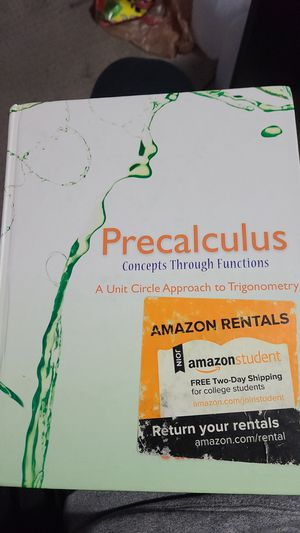 Precalculus concepts through functions for Sale in Clackamas, OR