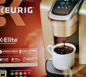 ☕☕☕GOLD KEURIG K·ELITE SINGLE SERVE COFFEE MAKER☕☕☕ for Sale in Seattle,  WA