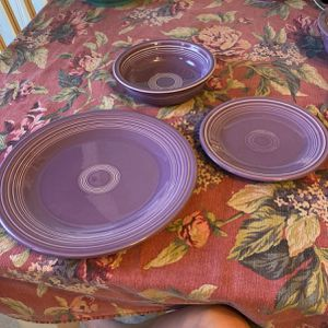 Fiesta Lilac Dinner Set for Sale in East Haven, CT