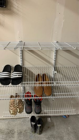 Wire rack for shoes for Sale in Bothell, WA