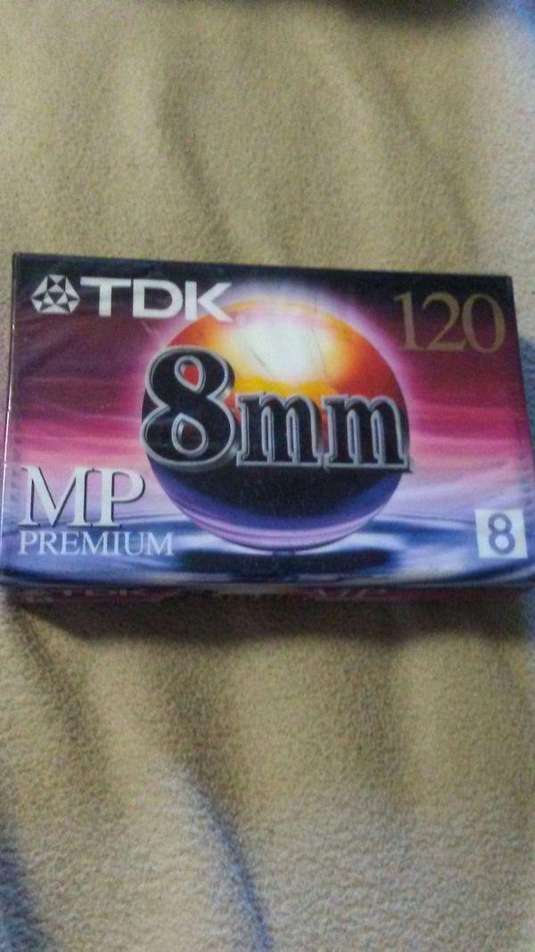 Tdk 8 mm cassettes