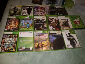Xbox 360 games (15) for Sale in Mableton, GA
