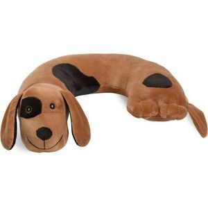 World's Best Dog Critter Piller Kids Travel Neck Pillow (Machine Washable), Brown Color for Sale in Mesa, AZ