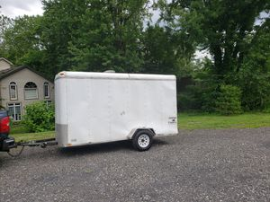6 x 12 enclosed trailer with title for Sale in Bensalem, PA