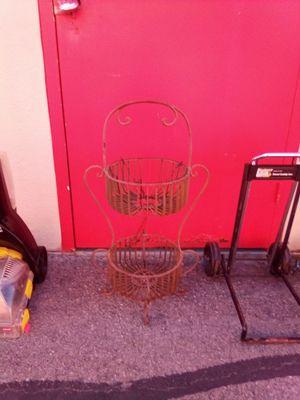 Metal decorative plant holder for Sale in Salt Lake City, UT
