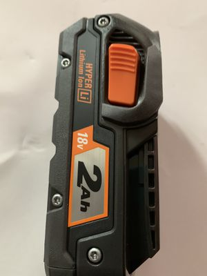 18 v battery ridgid 2.0 ah for Sale in Bridgeview, IL