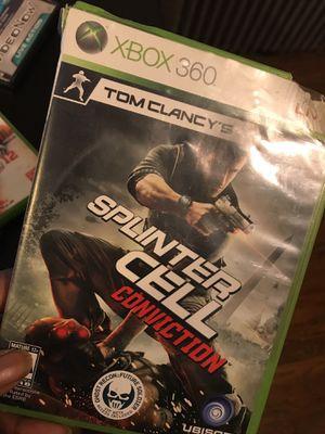Splinter Cell Conviction for Sale in Philadelphia, PA