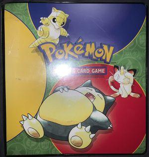1995 BASE SET Pokémon Binder ( 3 Pages ) for Sale in Upland, CA